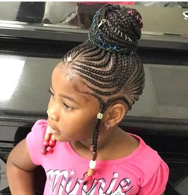 50 Best Ideas Protective Braids Hairstyles For Kids Braidedhairstyles Natural Hair Styles Kids Hairstyles Black Kids Hairstyles