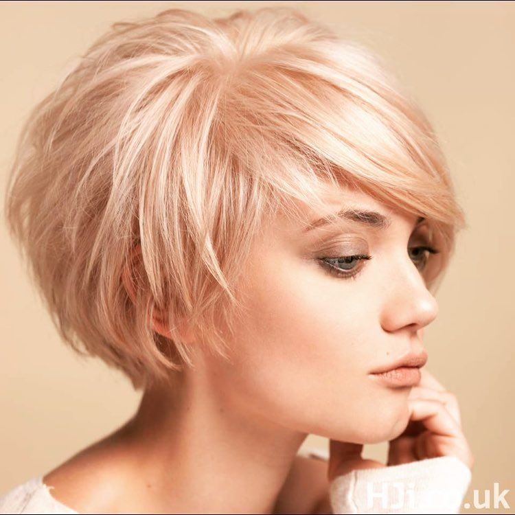 ✨TREND ALERT ✨ Loving this classic haircut with a hint if rose in