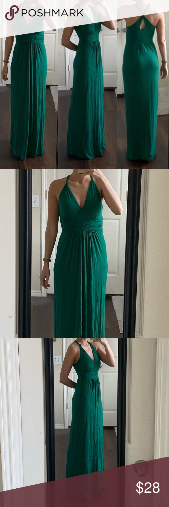 Gilli Emerald Kelly Green Stretchy Maxi Dress Dresses Fashion Clothes Design [ 1740 x 580 Pixel ]