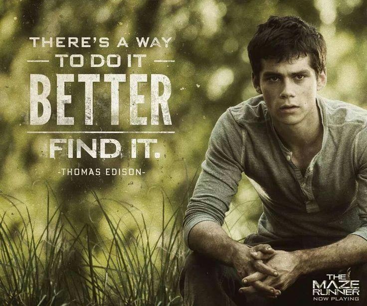 Maze Runner Quotes The Maze Runner  The Maze Runner  Pinterest  Maze Runner Maze .