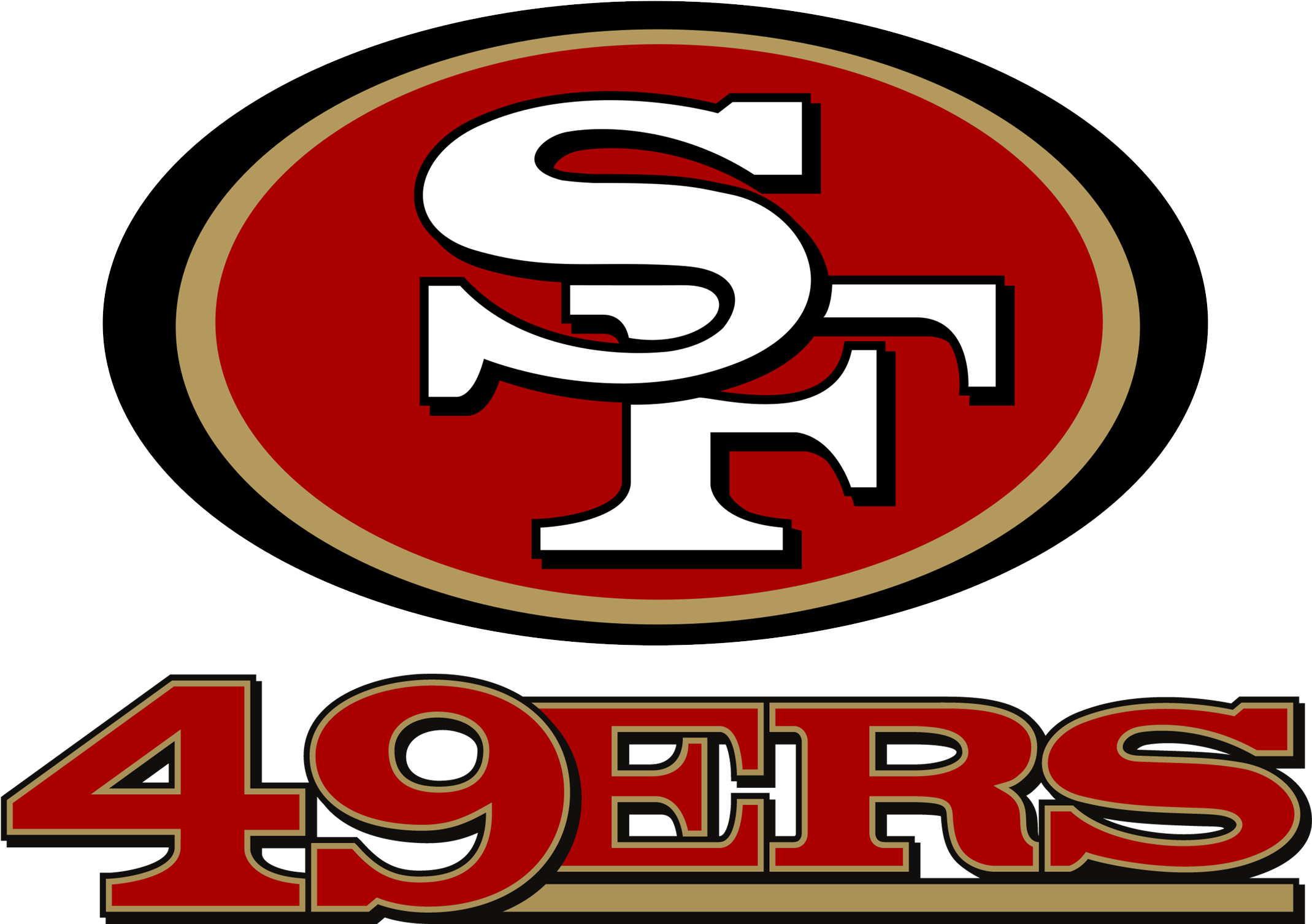 49ers football logo image by Maria Veronica Martinez on SF