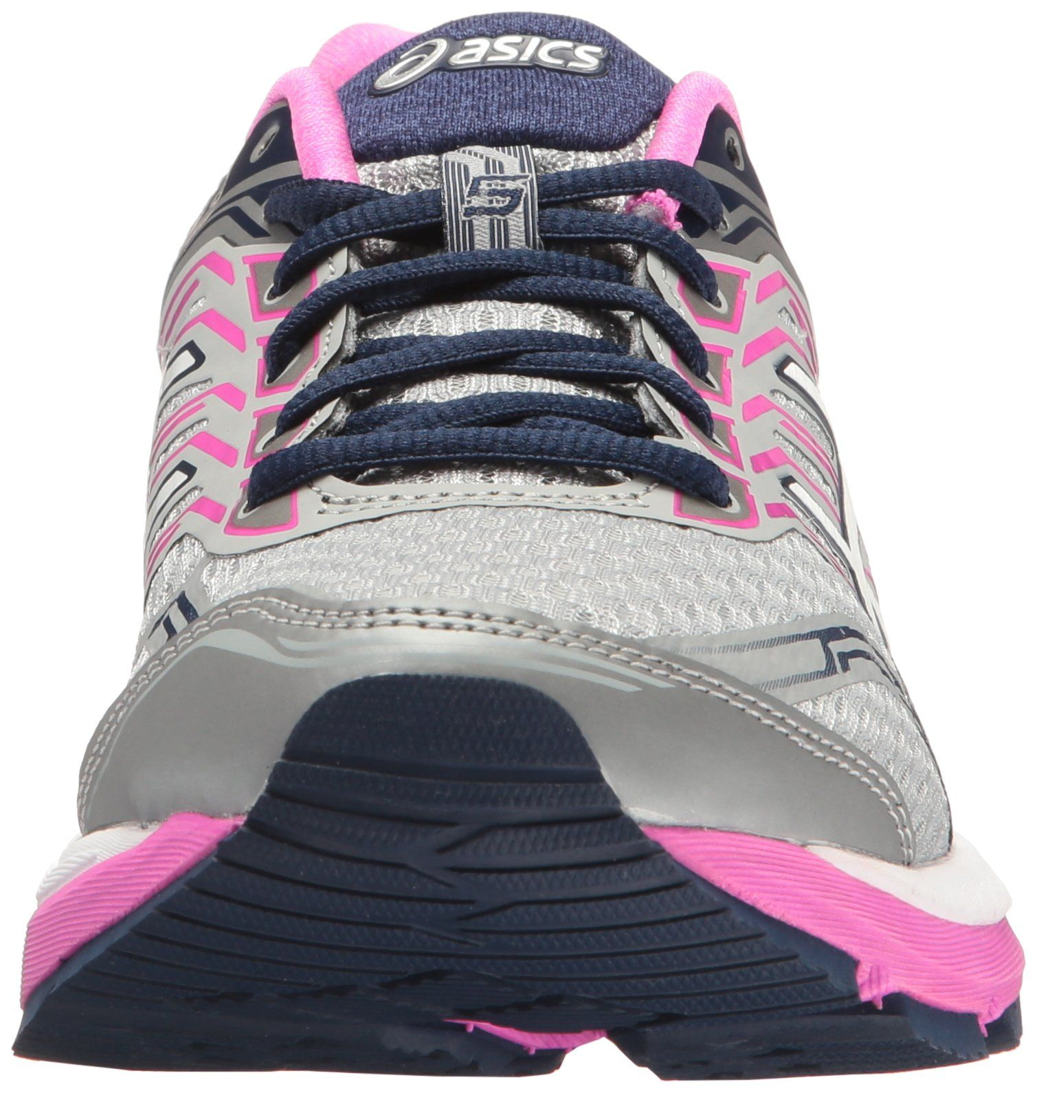 best sneakers b95fa 74d03 ASICS Womens GT2000 5 Running Shoe Mid Grey White Pink Glow 9.5 2E US      See this great product. (This is an affiliate link)