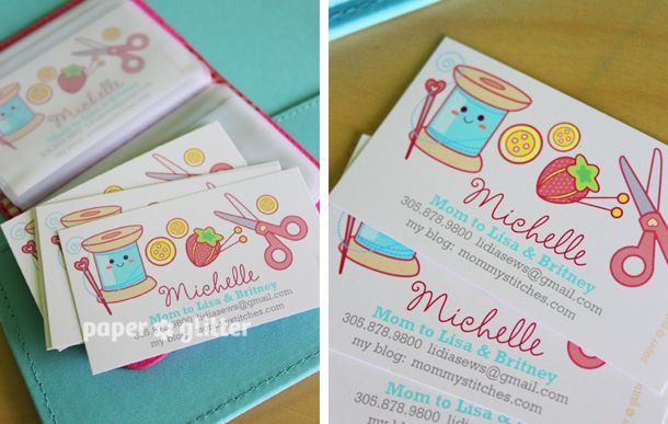 Free Printable Business Card Templates For Sewing