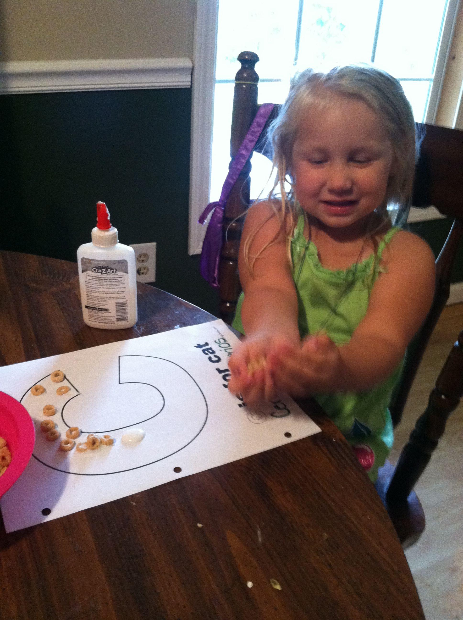 Preschool C Is For Cereal