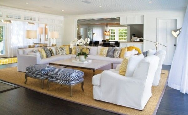 10 Tips For Styling Large Living Rooms {u0026 Other Awkward Spaces