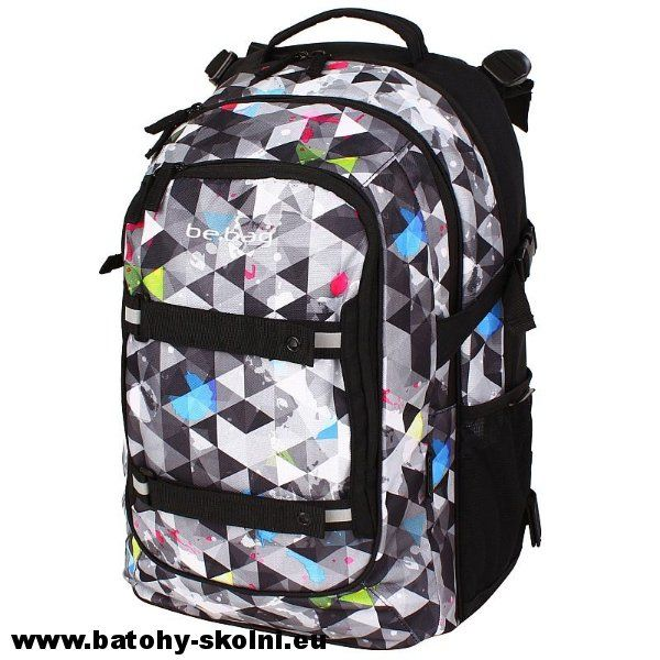 Studentský školní batoh Herlitz be.bag beat Snowboard ...