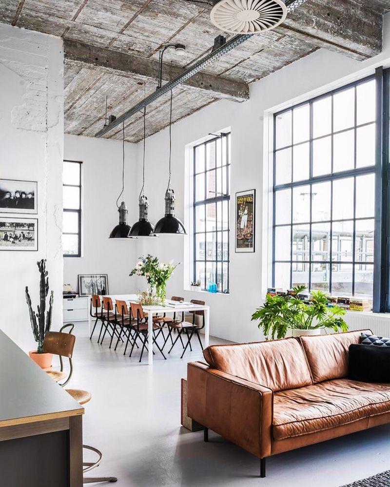 Interior Design Inredning Industriell Inredning Vardagsrum