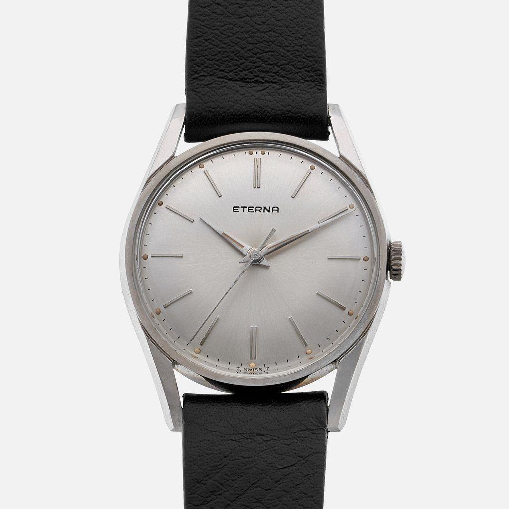 Eterna Ref 140t Dress Watch 1960s Vintage Watches Dress Watch Swiss Watches [ 1024 x 1024 Pixel ]