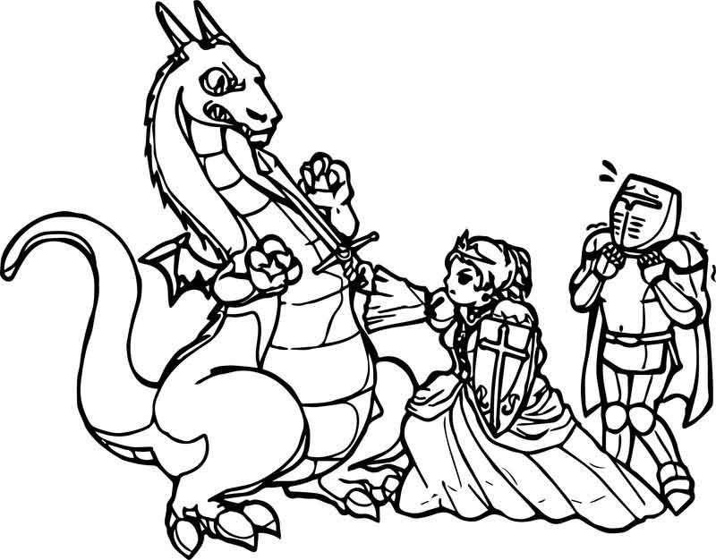 Dragon Princess Warrior Coloring Page Dragon Princess Princess Coloring Pages Princess Coloring