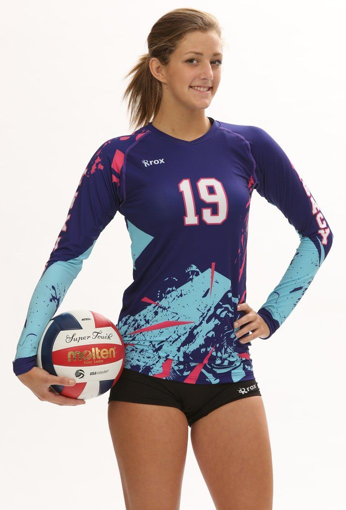 Women 39 S Sublimated Jersey Offered In Long Sleeve 1 X2f 4 Sleeve And Cap Sleeve S Volleyball Jerseys Volleyball Uniforms Design Volleyball Jersey Design