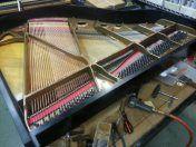 Restringing a piano