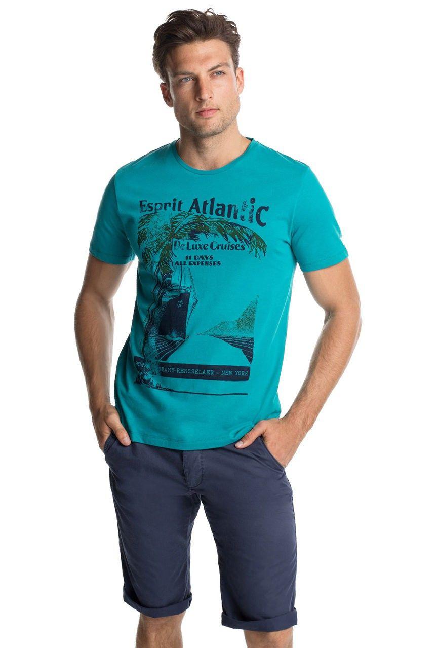 T-shirt Esprit con stampa 055EE2K003-E300