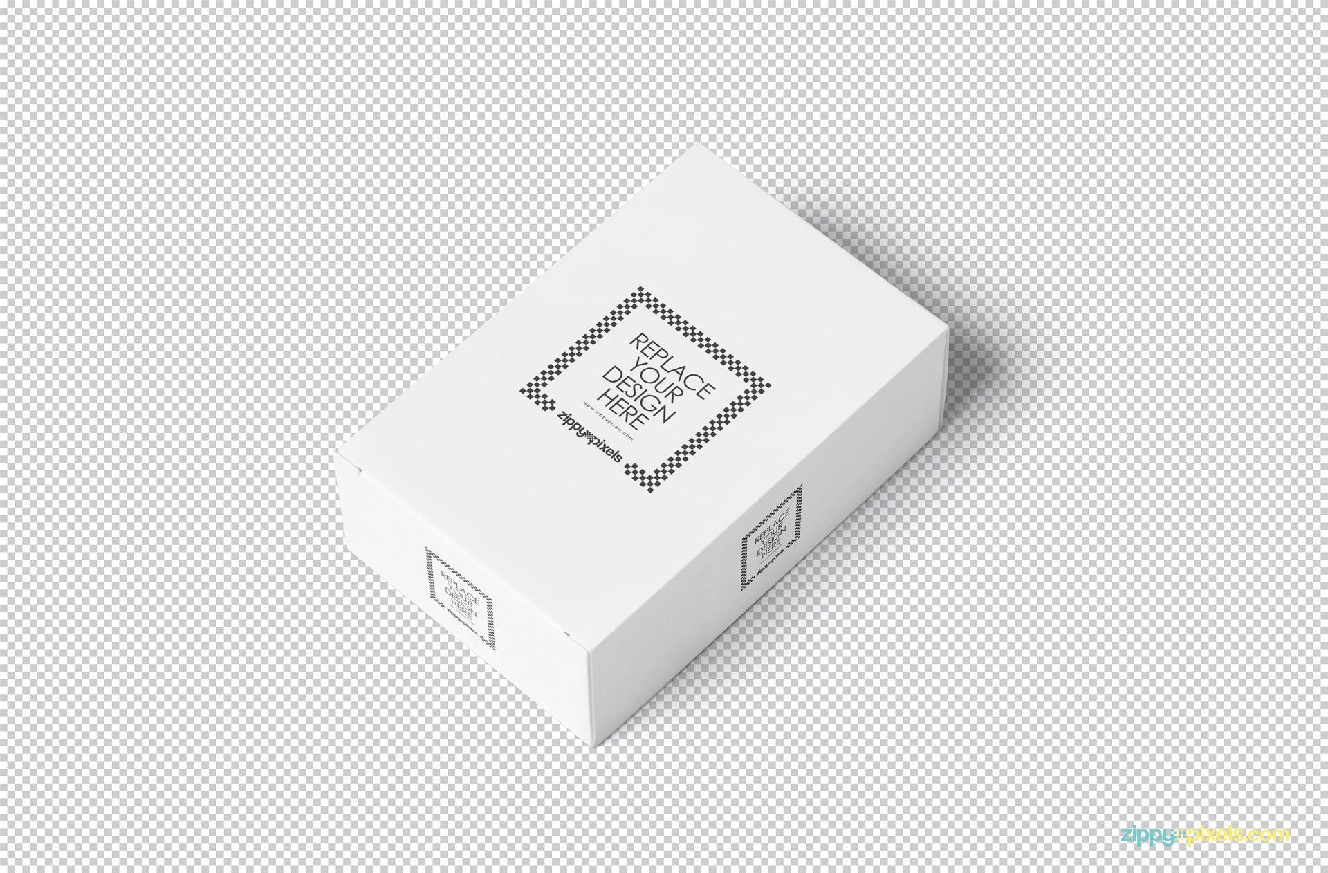 Download Free Customizable Card Box Mockup Zippypixels Box Mockup Card Box Box Packaging Design