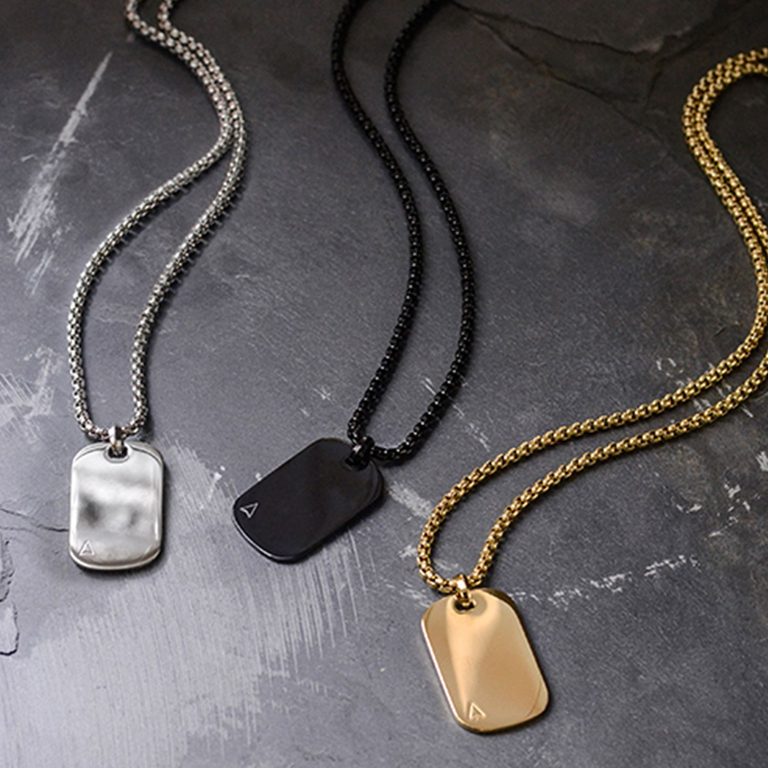 1cec67b2c06a2 The ID Tag Necklace is a contemporary jewellery piece that quietly ...