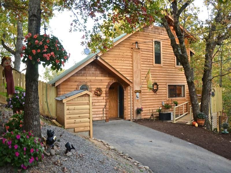 Bearfoot Cabin 1 Bedroom Cabin in Sevierville with