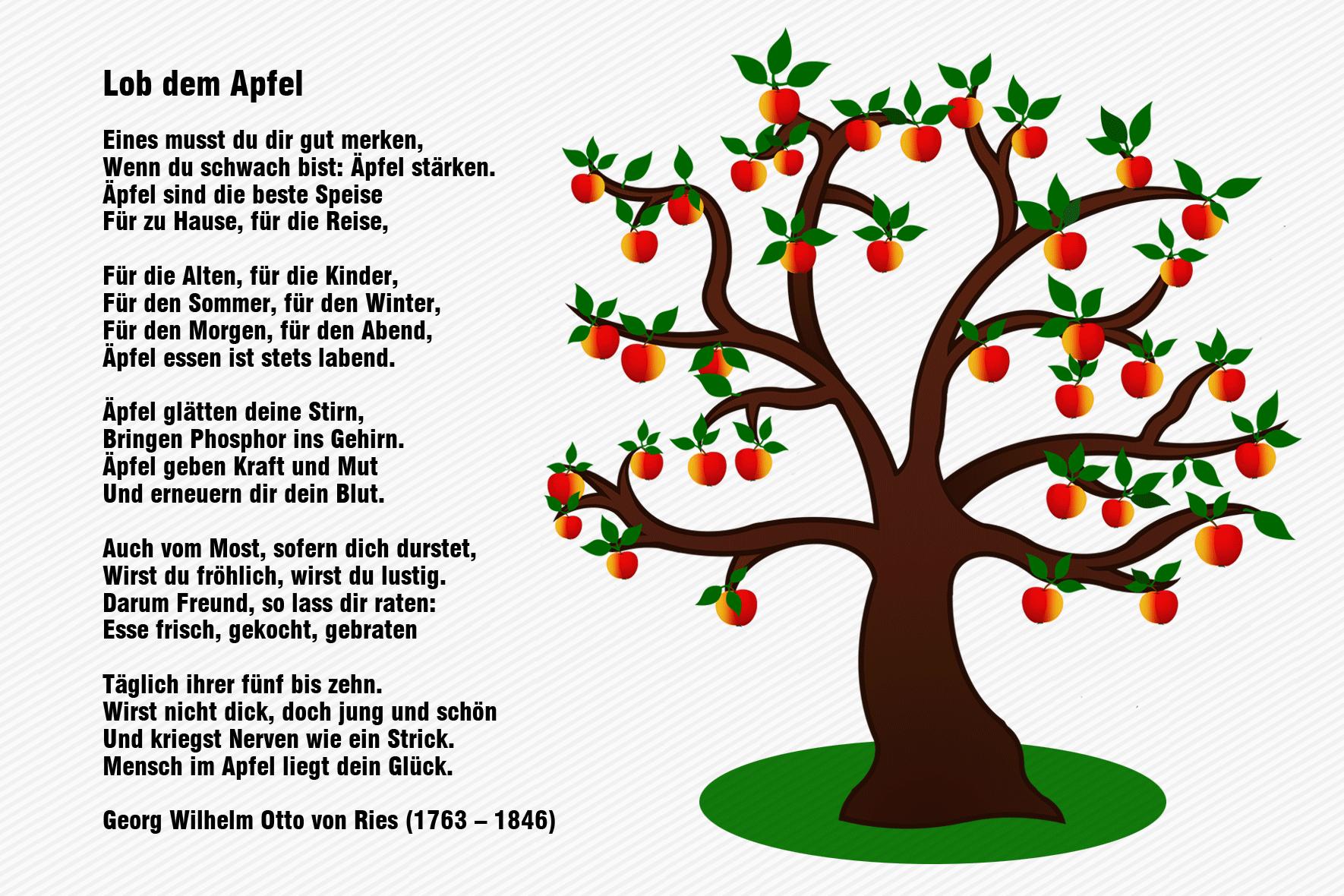 Apfel Lieder Und Gedichte