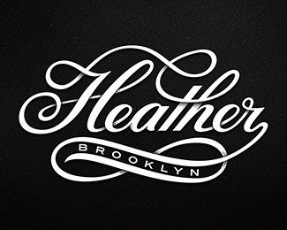 Beautiful, elegant type really makes this logo stand out from the crowd
