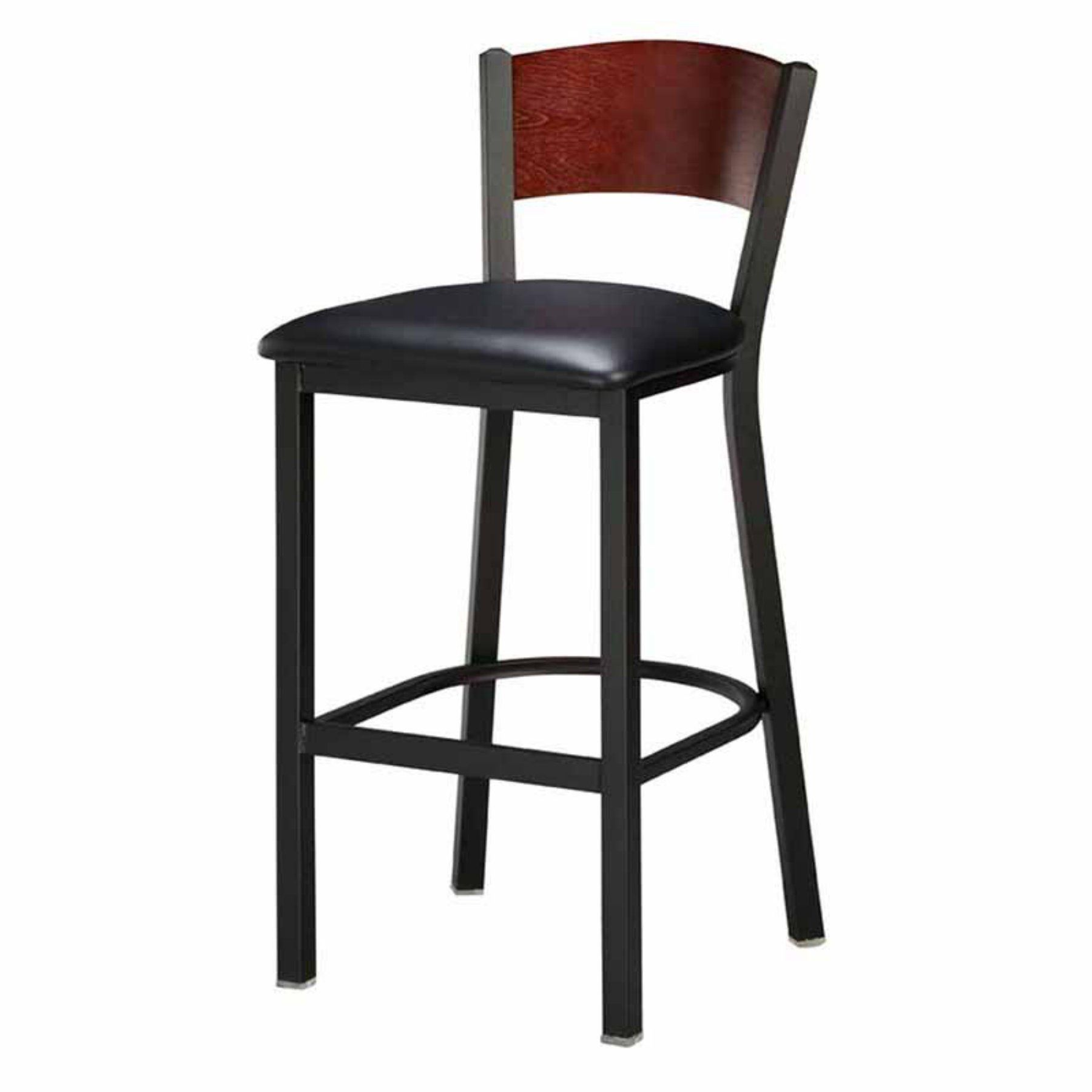 Regal Honors Full Back 26 In Metal Counter Stool With Upholstered