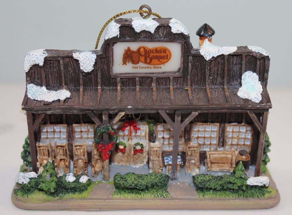 Cracker Barrel Old Country Store Christmas Ornament 2005 ...
