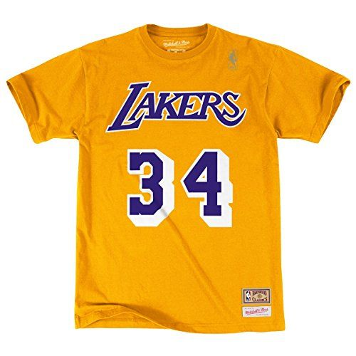 Shaquille O Neal Los Angeles Lakers Shirts  9fad7f4ed207