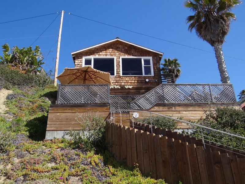 Historic beach cottage at Crystal Cove in Southern ...