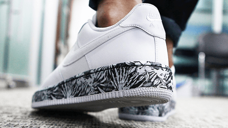 Nike Air Force 1 Floral Sole White  68d66c53e
