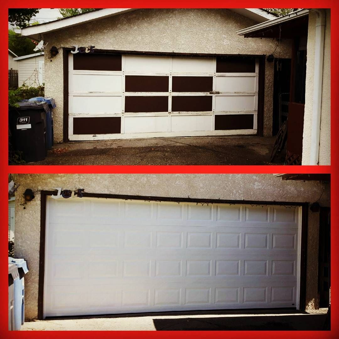 Garage Door Before And After Photos For All Your Garage Door Needs