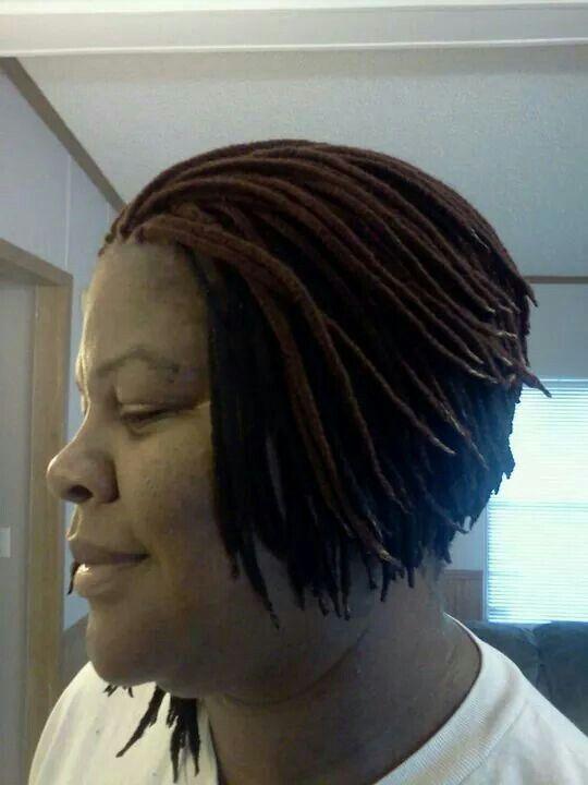 Micro Yarn Braids In A Bob Sooo Wavy Natural Hair