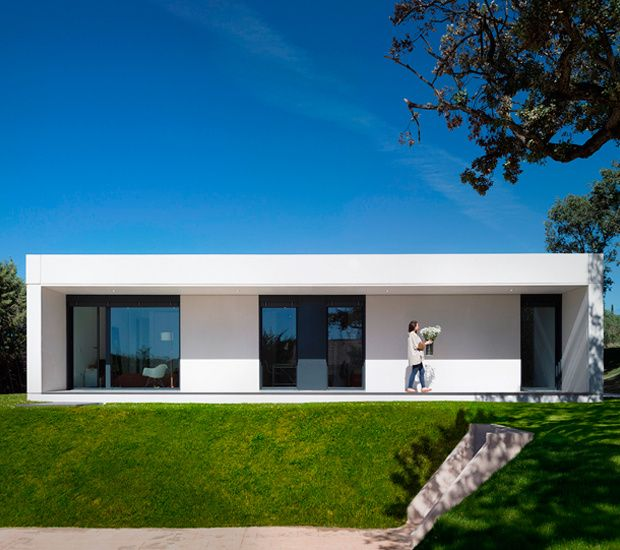 Casa prefabricada de hormig n homm arquitectura y dise o for Casas prefabricadas hormigon