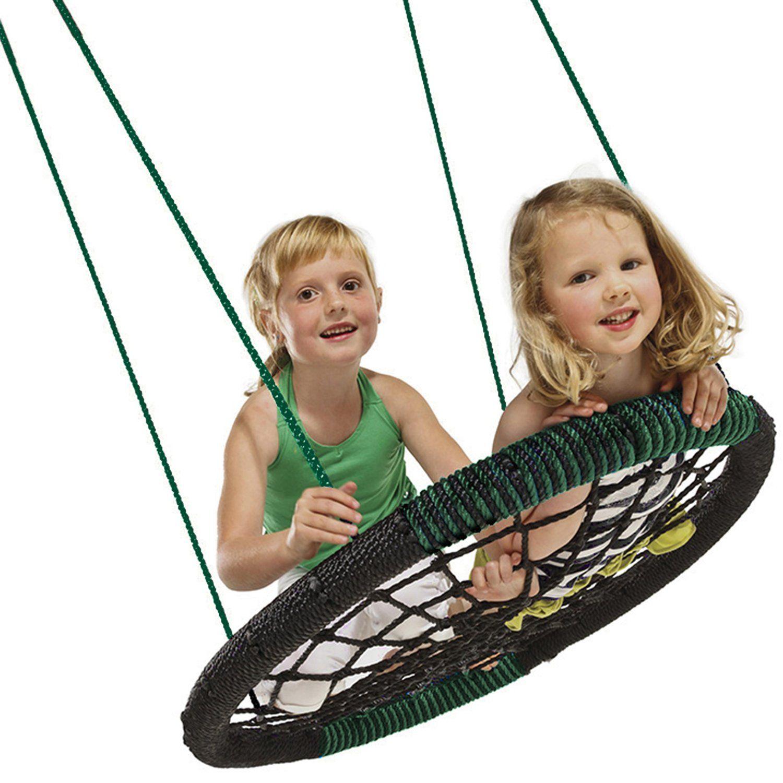 Amazon.com: Swing-N-Slide Monster Web Swing: Toys & Games ...