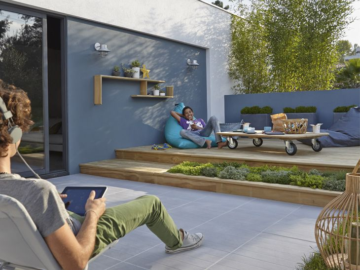 Awesome amenager une terrasse exterieure ideas home for Amenager une terrasse