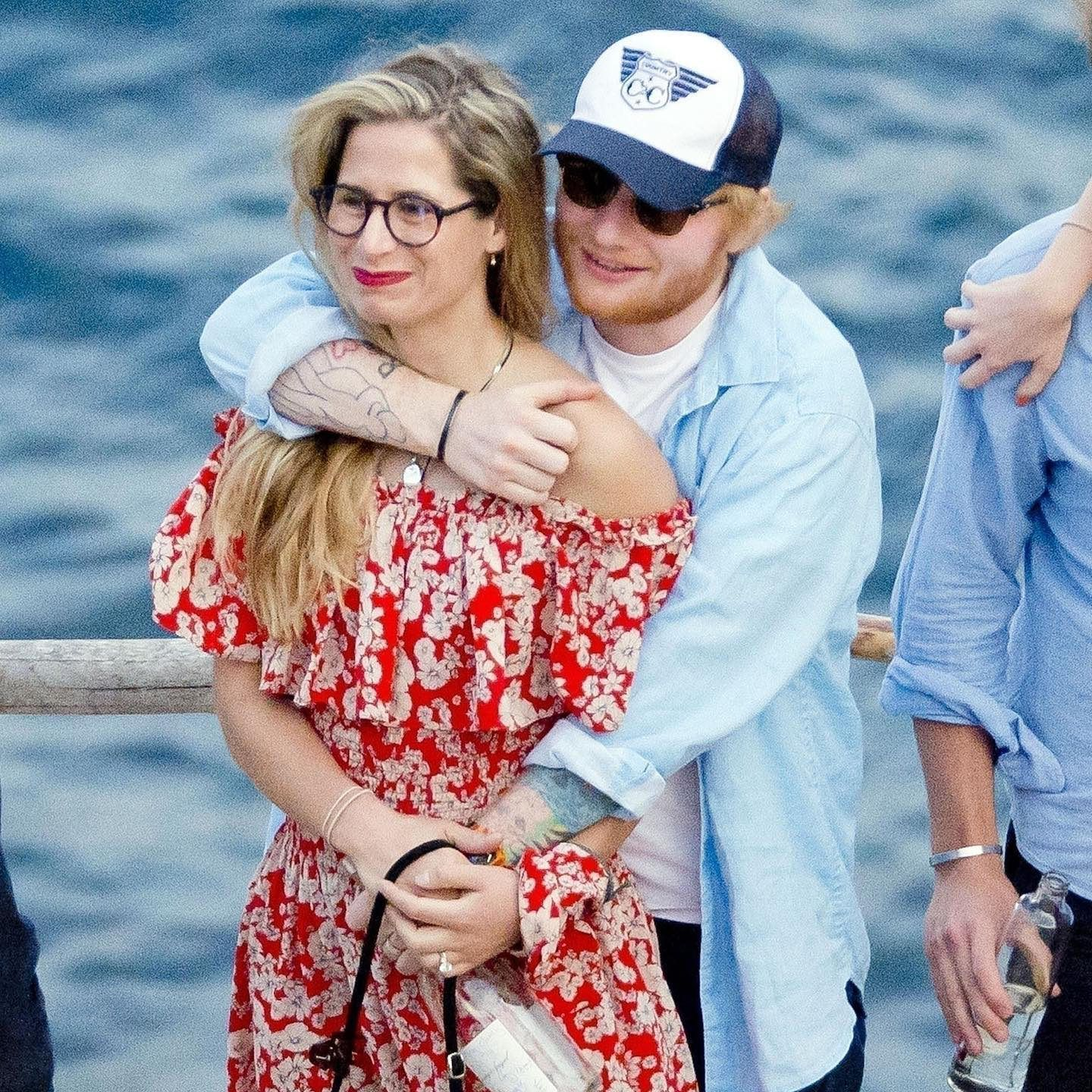Ed Sheeran and his wife Cherry Seaborn were spotted looking happy as they went for a stroll in the rain with their 7-month-old daughter Lyra Antarctica in Sorrento Australia on Saturday. On Celebrity Couples