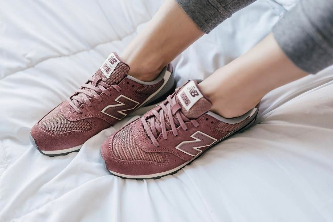 Blush pink New Balance sneakers   New