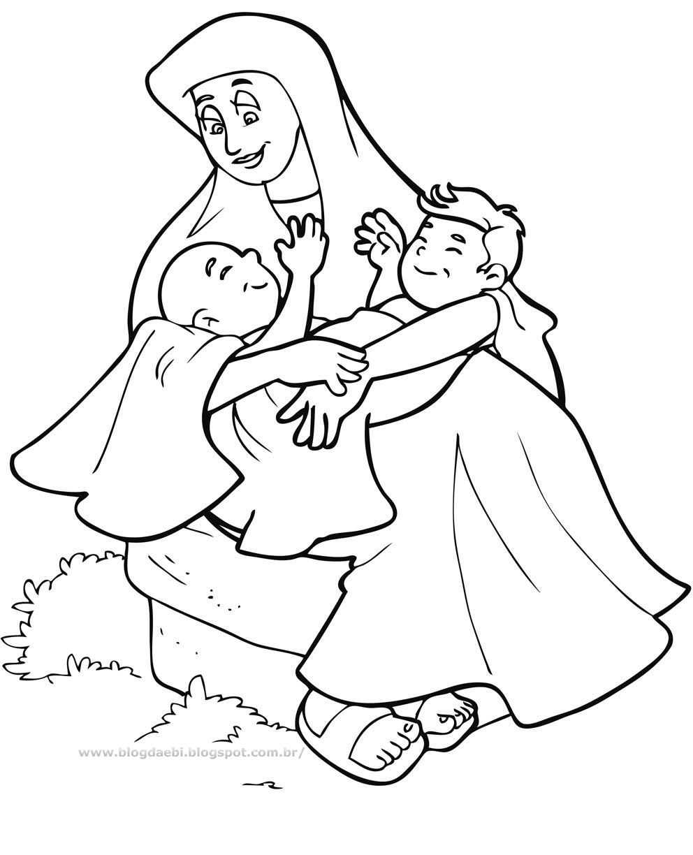 Jacob Coloring Pages | Jacob printables | Jacob patriarch | Sunday ...