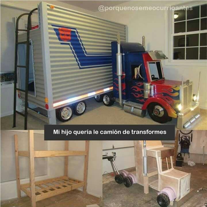 cama trailer | madera | Pinterest | Camas, Recamara y Plataforma