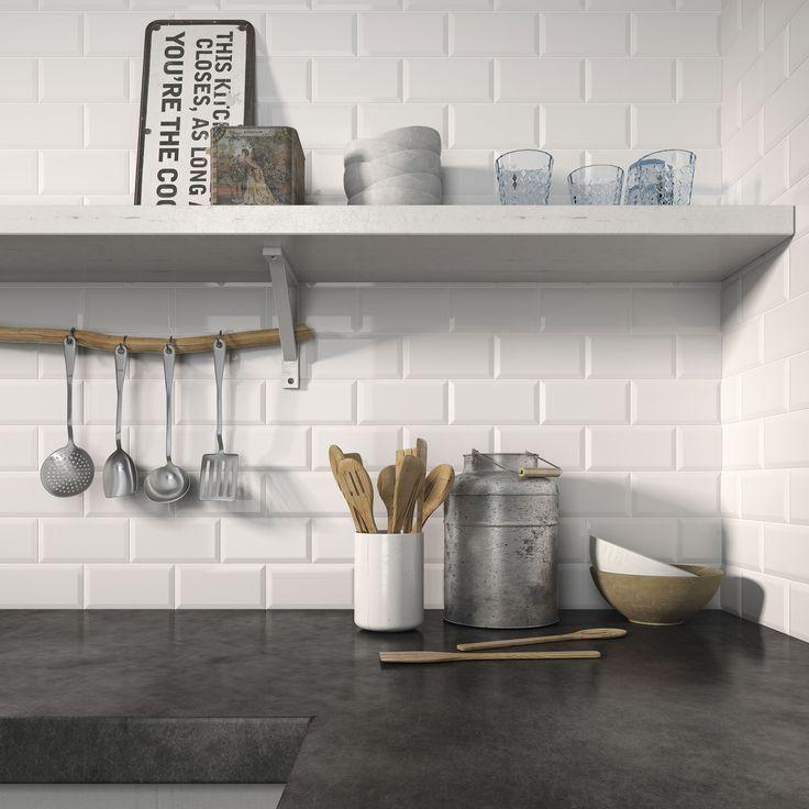 Azulejos metro Cocinas, Decoracion interior y Interior de cocina