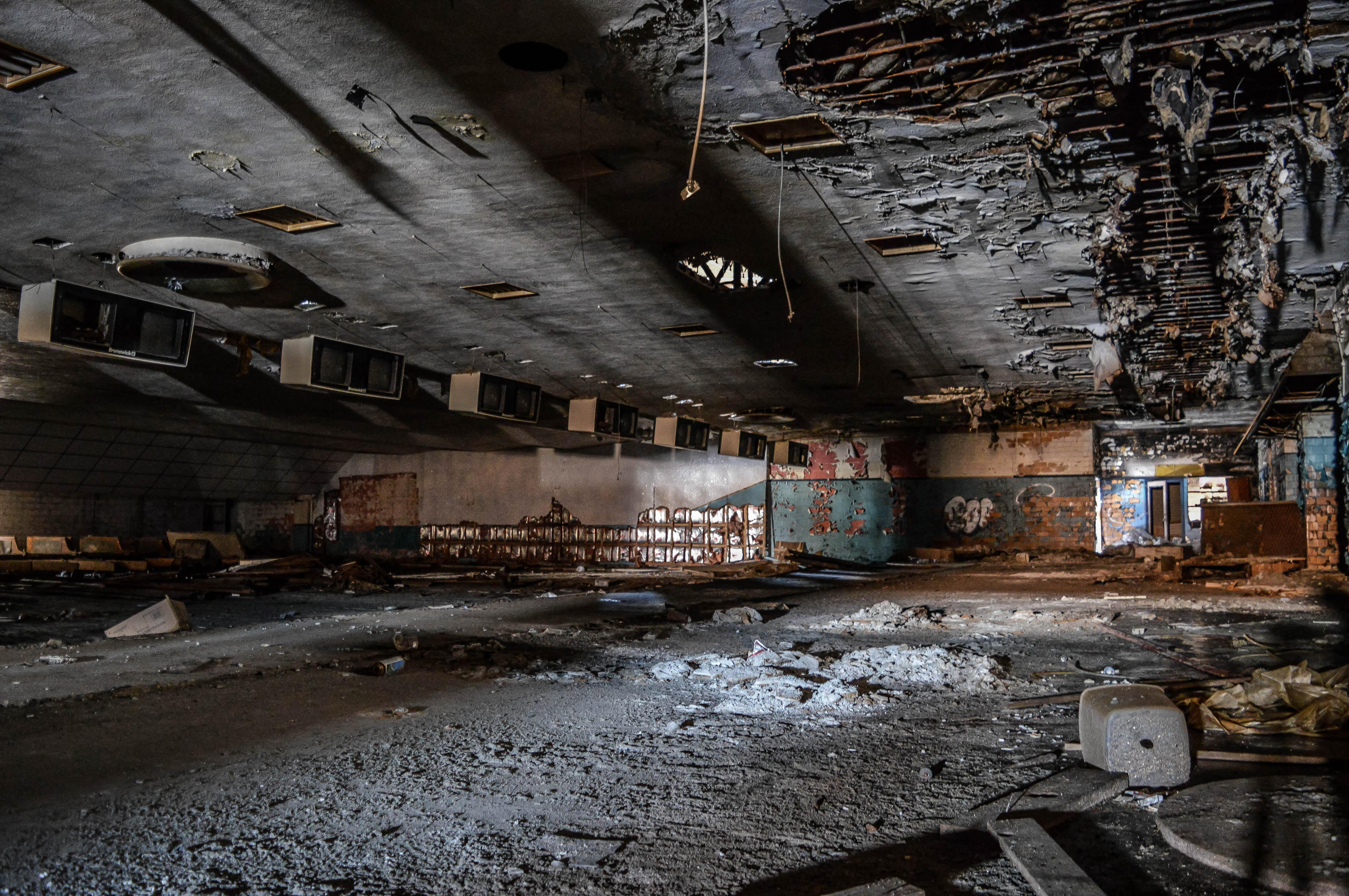 Abandoned Bowling Alley Flint Mi 6016 X 4000 Oc Abandoned Alley Flint