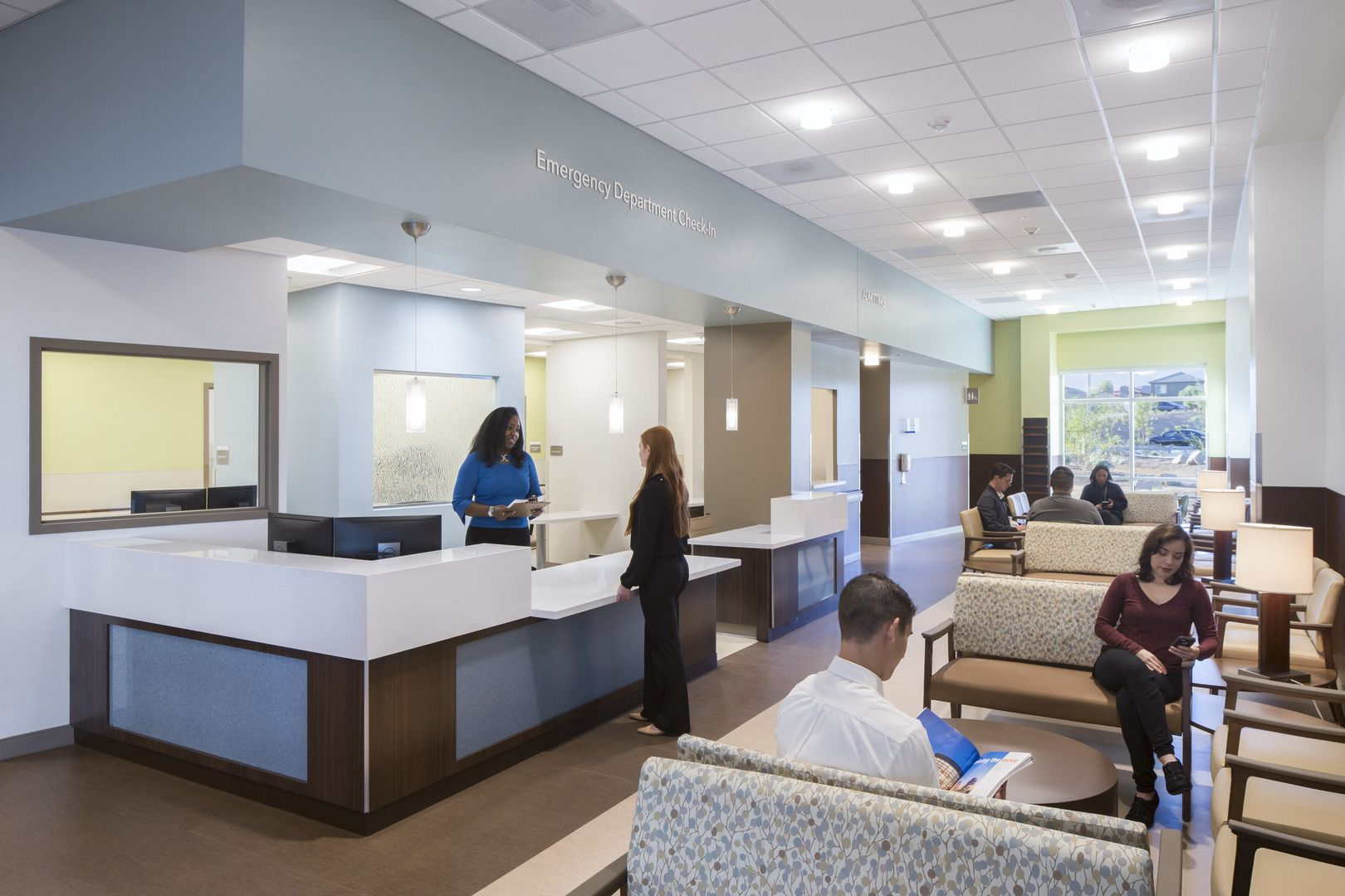 Henderson hospital hospital acoustics design