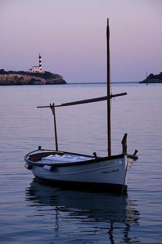 27 Ideeën Over Menorquin Boten Boot Tekening Nautisch Schilderij