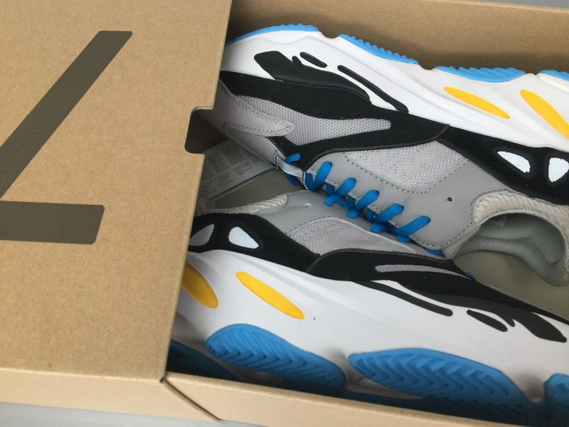 huge discount 4940b 9e572 Adidas Yeezy Wave Runner 700 Grey Blue Real Boost for Sale10 ...
