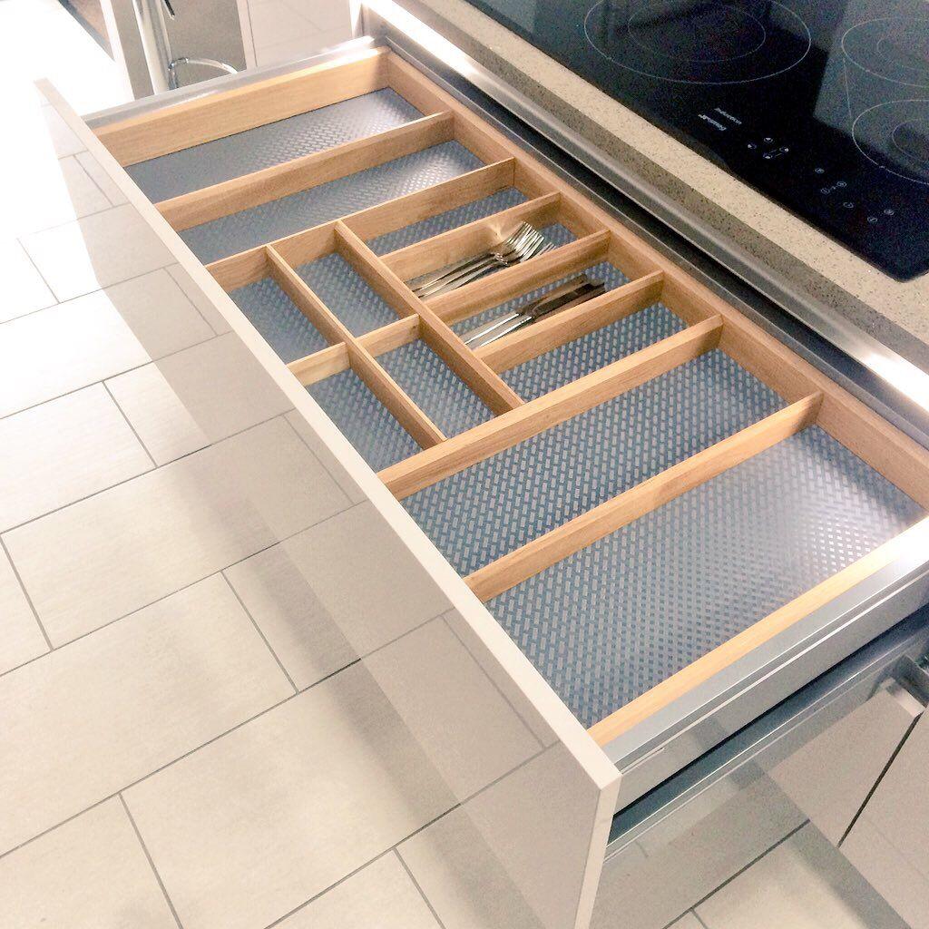 Cute  kitchen storage ideas drawer nobilia germankitchen glasgow home
