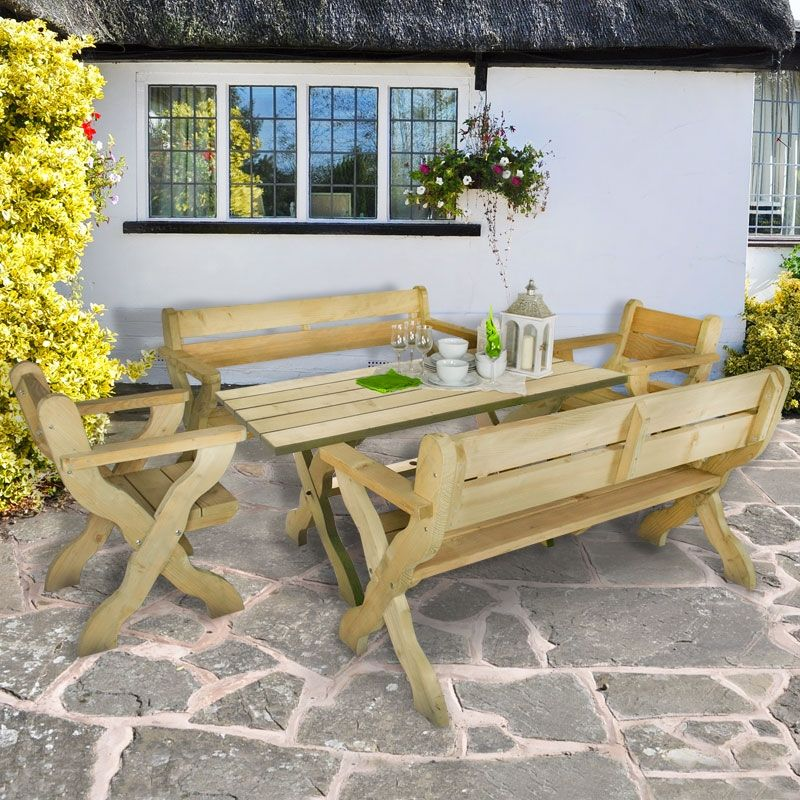 b678beb51e01 Furniture-Plus Grizedale   Shedstore Garden Products   Wooden garden ...