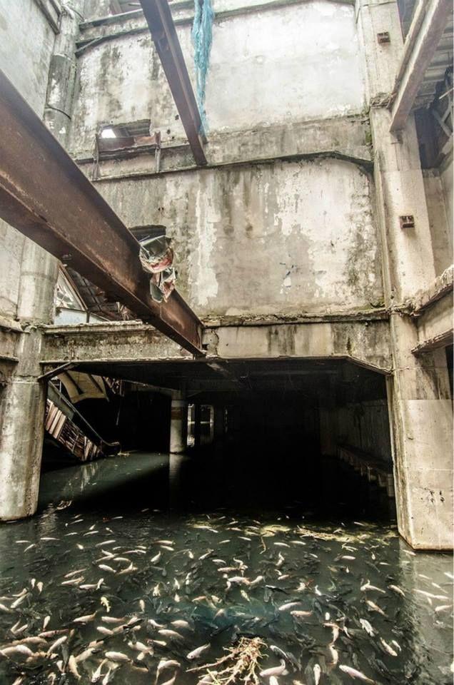 Shooping abandonado em Bangkok,Tailândia