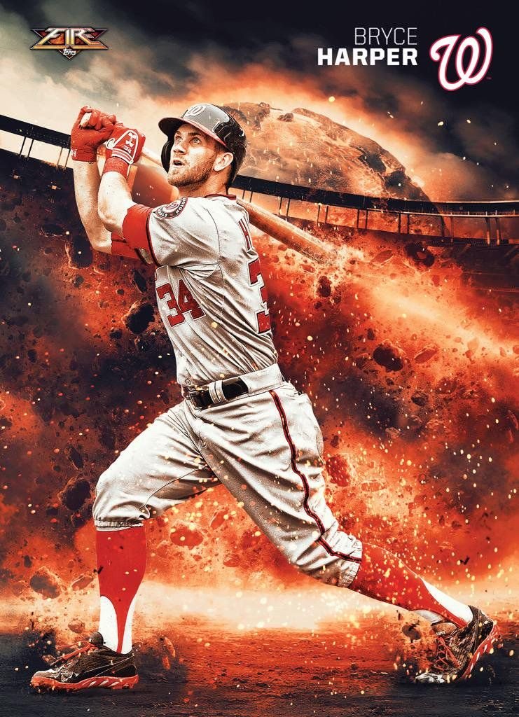 Bryce Harper Wallpaper Baseball Print Baseball Drawings Sports Drawings