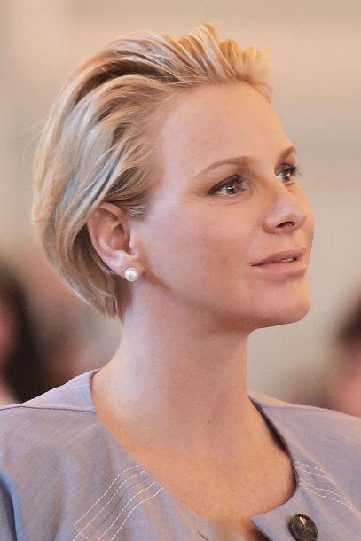Furstin Charlene Neue Frisuren Hair Short Hair Styles Bald
