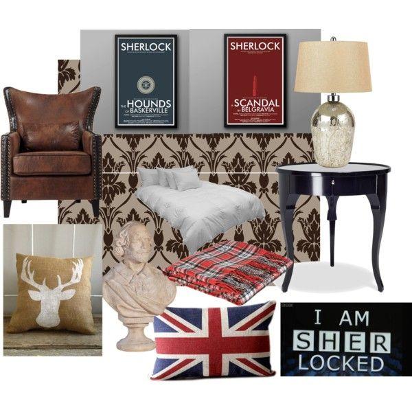 Sherlock Bedroom By Susan Savelli On Polyvore