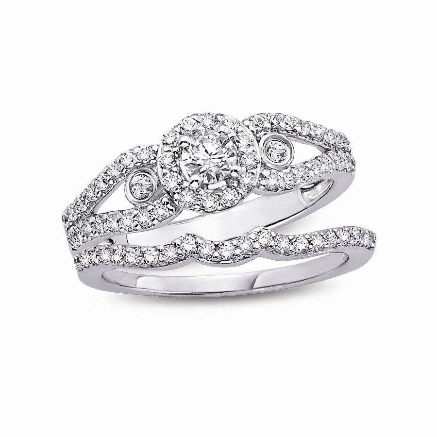 Wedding Bands And Engagement Rings Sets