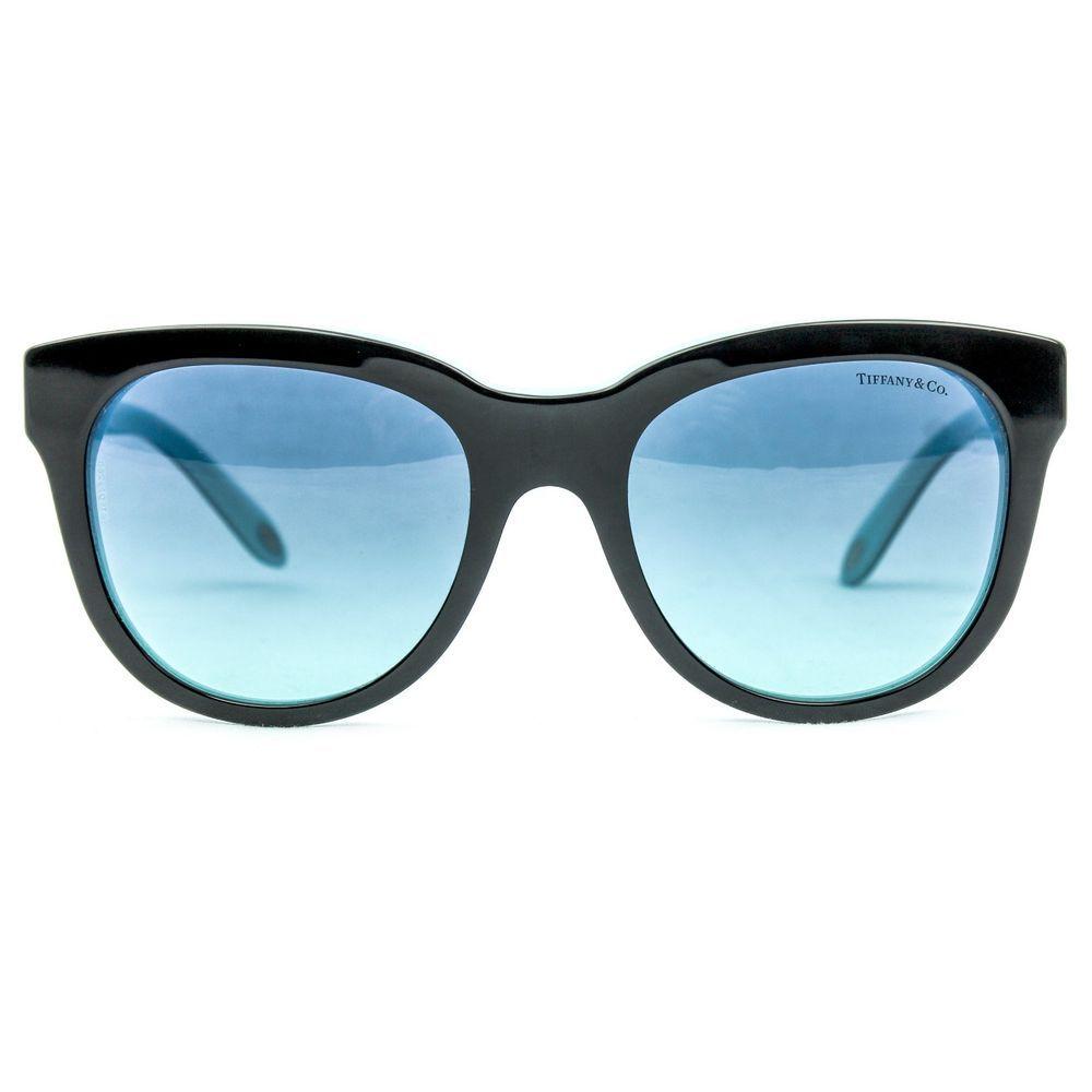 aa59570edaa Atlas Classic Sunglasses TF 4112 8055 9S 53 Black Blue  TiffanyCo  Designer