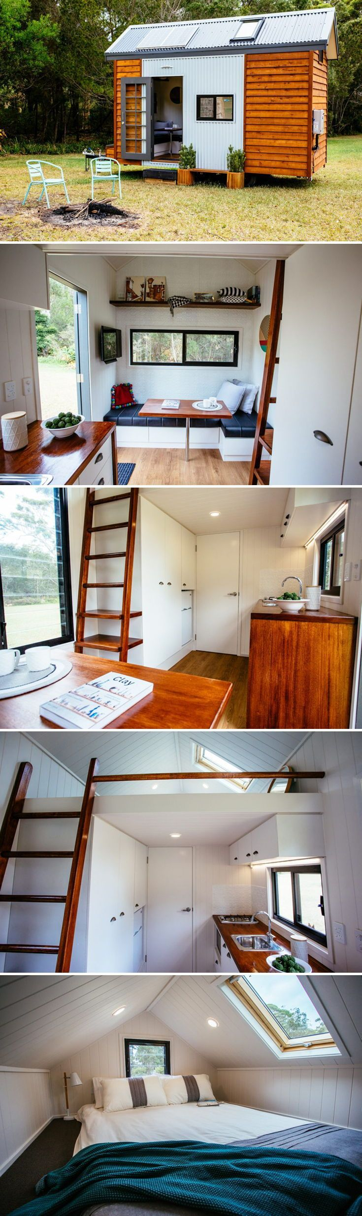 Independent Series 4800DL by Designer Eco Homes #tinyhousekitchens
