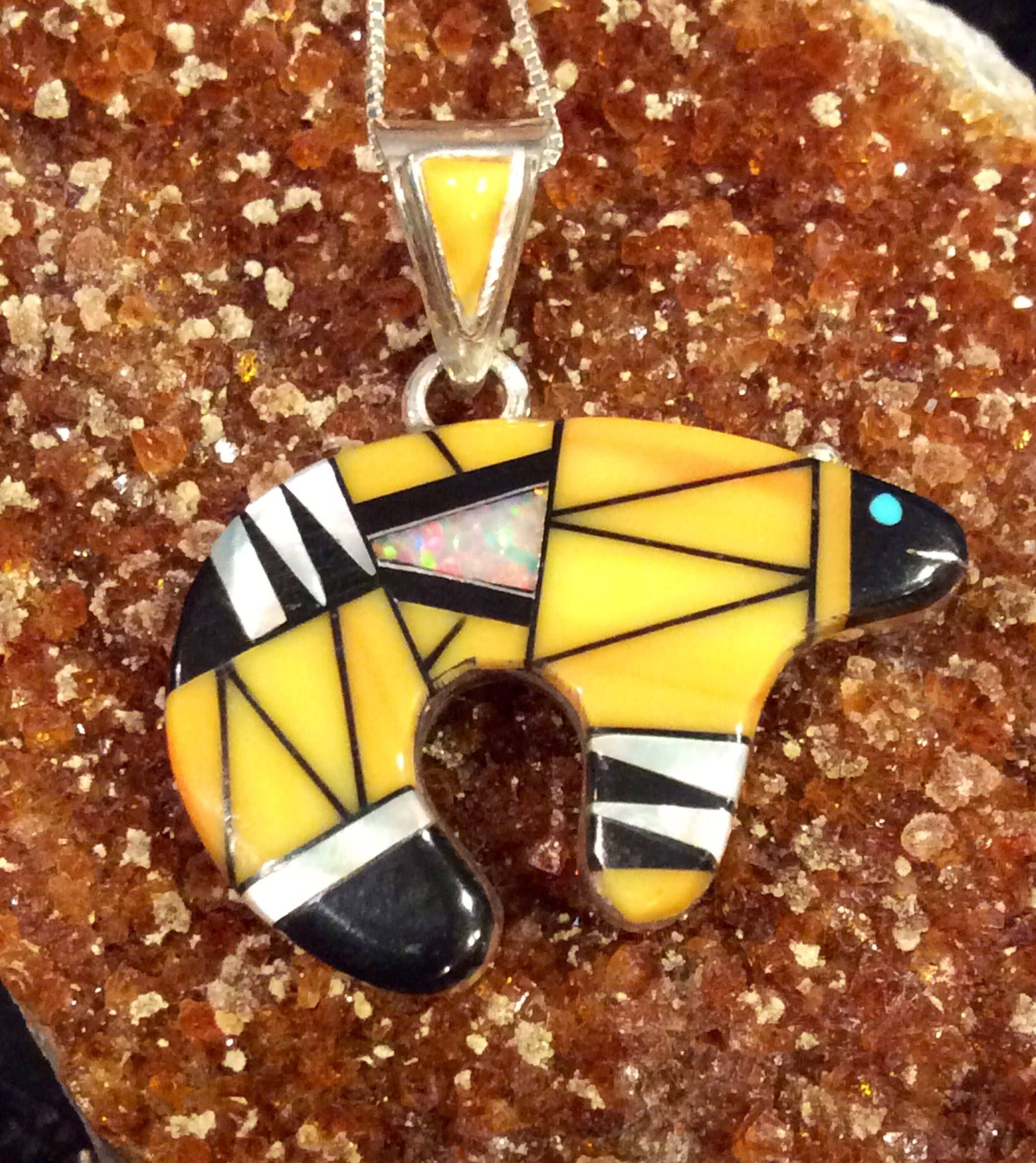 store zuni inlay pendant turtle
